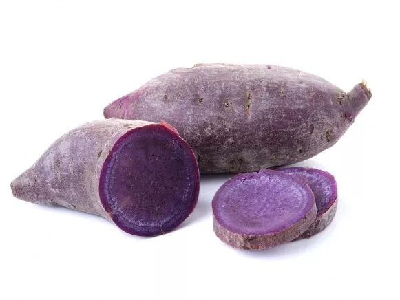 The purple sweet potato, also known as black potato, is purple to dark purple inside. In addition to the nutrient components of ordinary sweet potatoes, it is also rich in selenium and anthocyanins.In recent years, purple sweet potato has become very popu